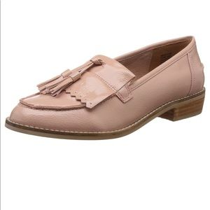 Steve Madden Meela Loafer Flats Pink Patent 7
